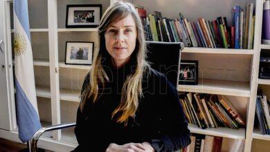 Photo of Agustina Vila: «Se podrá volver a clases cuando la situación epidemiológica lo permita»