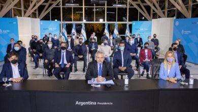 Photo of El Presidente Fernández anunció la creación de un Fondo de Asistencia para recomponer el salario de la Policía