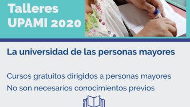 Photo of Inscripción abierta para los cursos y talleres UPAMI destinados a adultos mayores